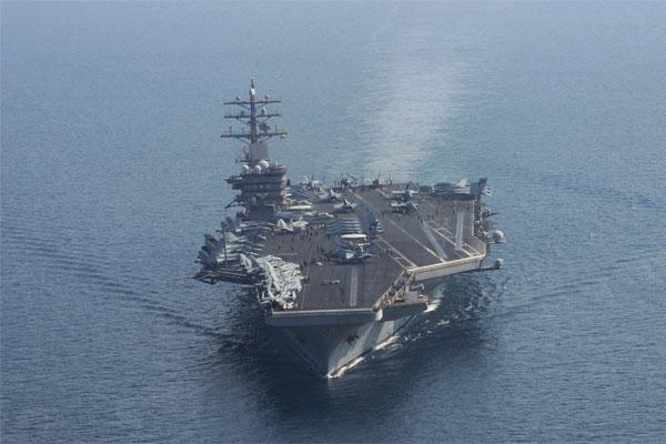 USS Dwight D Eisenhower 600x400