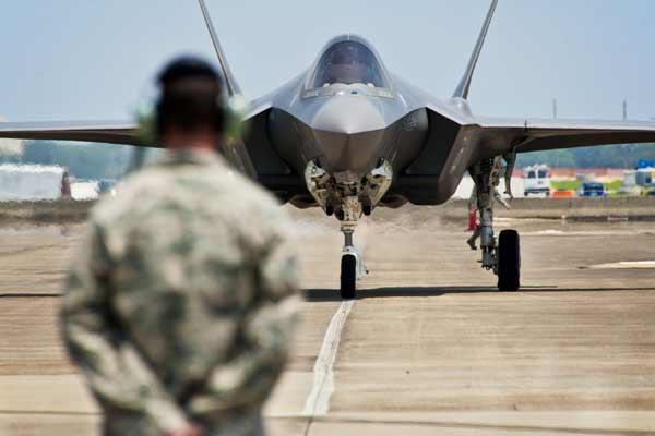 F-35 landing