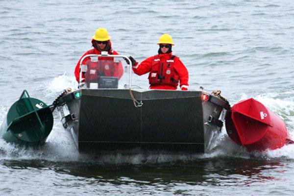 Coast Guard Cutter Chippewa crewmembers 600x400