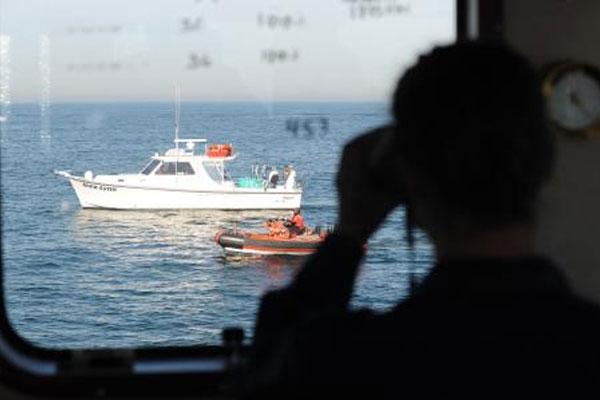 Coast Guard Cutter Shearwater 600x400