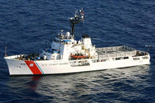 Coast  Guard Cutter Confidence 600x400