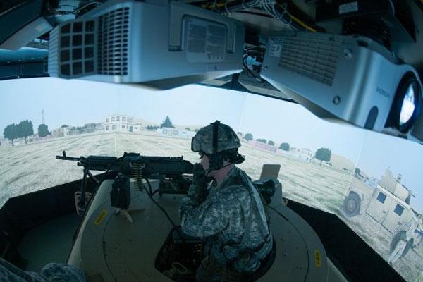 Army Virtual convoy simulator 600x400