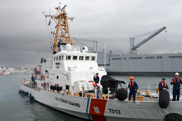 Coast Guard Cutter Edisto 600x400