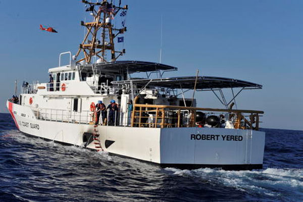 Coast Guard Cutter Robert Yered 600x400