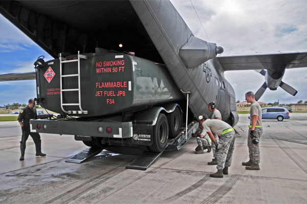 R-11 refueling truck in C-130 Hercules 600x400