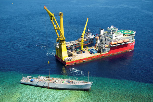 Dismantling Guardian from the reef 600x400