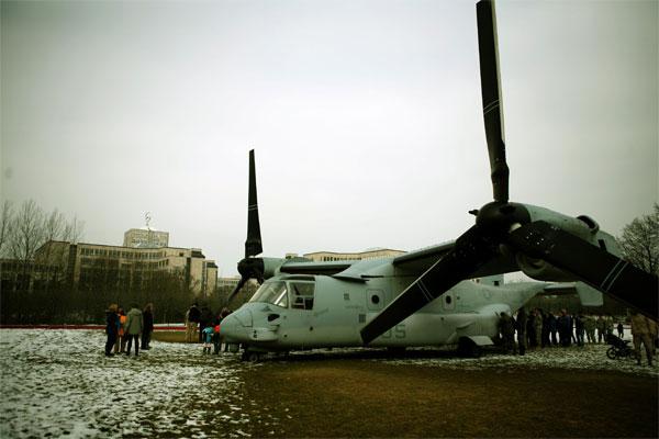 MV-22B Osprey in Stuttgart 600x400