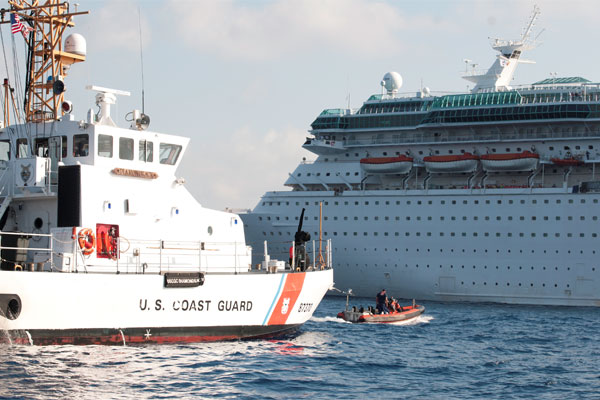 Coast Guard Cutter Diamondback 600x400