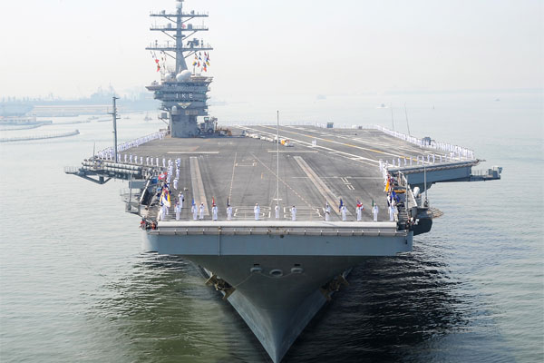 USS Dwight D. Eisenhower 600x400