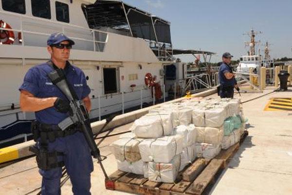 contraband at Coast Guard Base Miami Beach 600x400