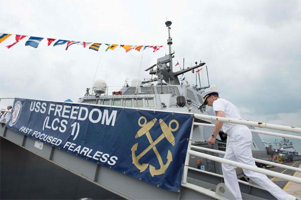 USS Freedom 600x400