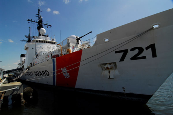Coast Guard Cutter Gallatin 600x400