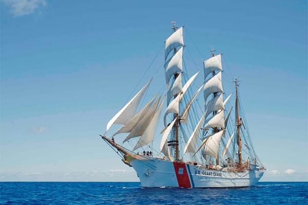 Coast Guard Cutter Eagle 600x400