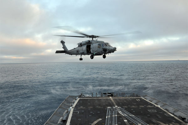 SH-60 Sea Hawk helicopter 600x400