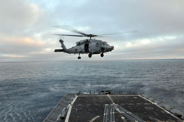 SH-60 Sea Hawk helicopter 600x400