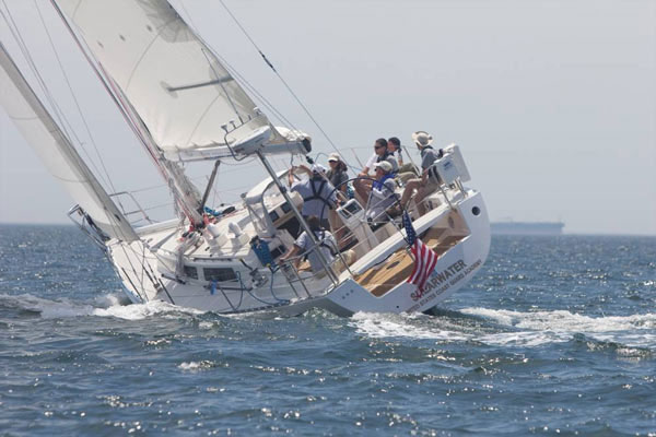 The Shearwater sailboat 600x400