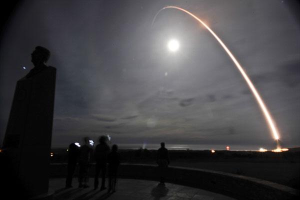 unarmed Minuteman III intercontinental ballistic missile
