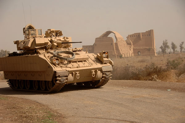 The Army wanted to replace the Bradley with the GCV, but that program took a hit from Congress freeing up money for other program. (Source: Defense Department)