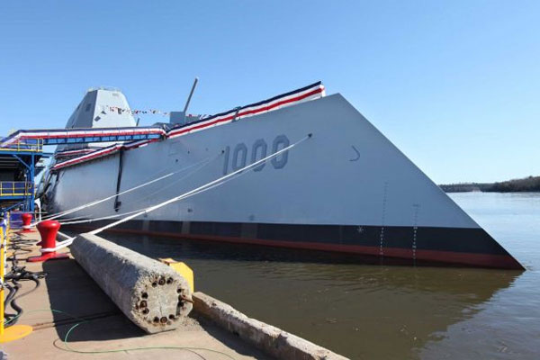 Navy Destroyer Zumwalt