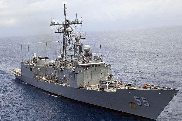 frigate Elrod