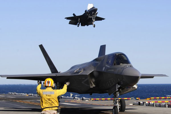 F-35 sea trials