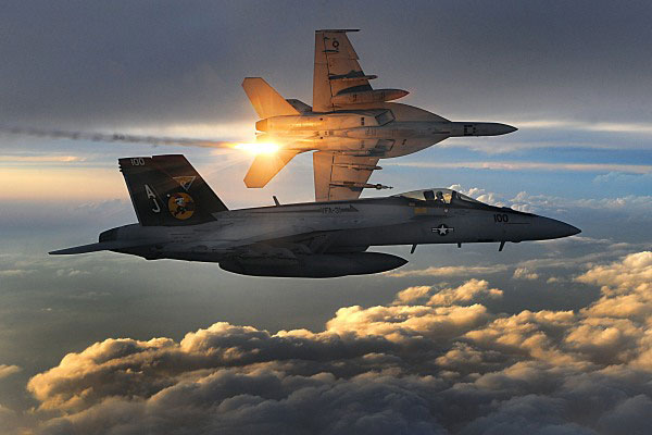 Two Super Hornets