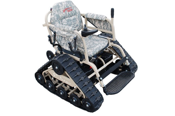 AllTerrain Chair Gives Measure of Freedom to Wounded Warrior – All Terrain Chair