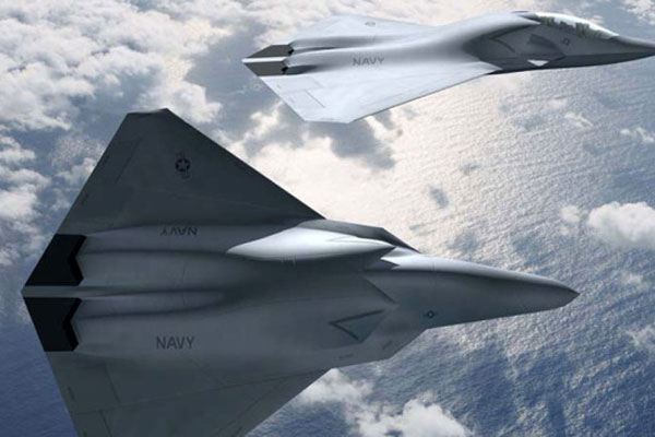 Boeing's artistic depiction of the Navy's FA/XX (Boeing image)