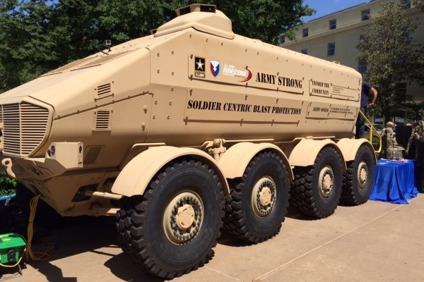 Future Mres And Safer Vehicles Stand Out At Pentagon S