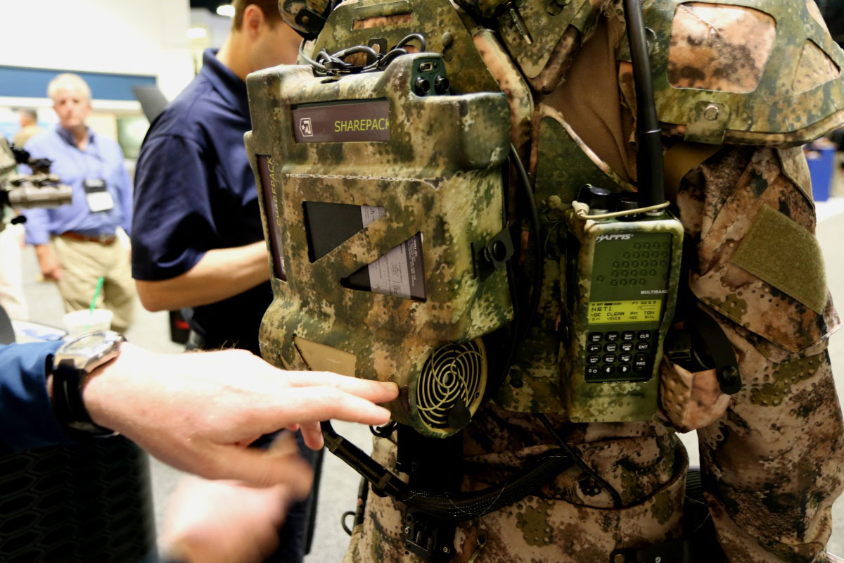 Firms Pitch Exoskeletons And Body Armor For Socom S Iron