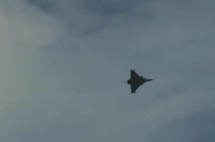 Dassault Rafale Flying in Sky