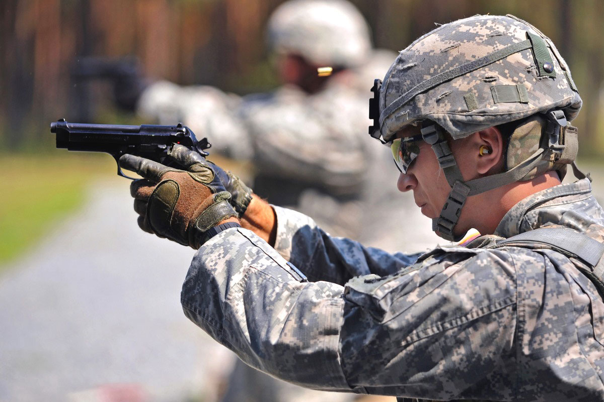 Image result for 1911a1 us army & the 92fs