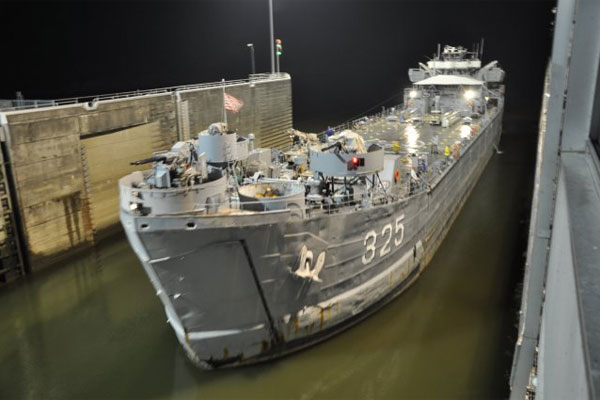 world war ii relic lst 235 to visit pittsburgh