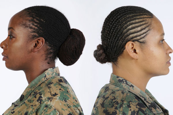 Military Haircut Styles For Women Images & Pictures - Becuo
