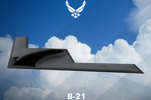 Artist's concept of the B-21 Bomber (U.S. Air Force image)