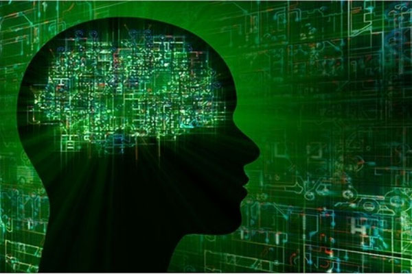 The U.S. military is working to develop a new chip technology that, when implanted, will connect human brains to computers – making cyborgs. (Photo: DARPA)