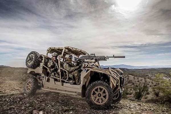 The MRZR all-terrain vehicle made by Polaris. (Image courtesy Polaris)