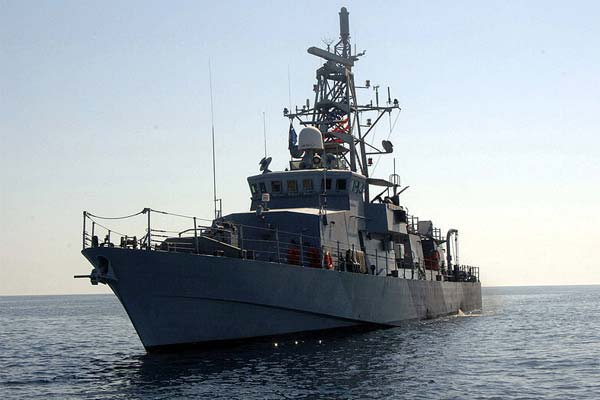 Cyclone-Class Coastal Patrol Ship USS Squall (Navy Photo)