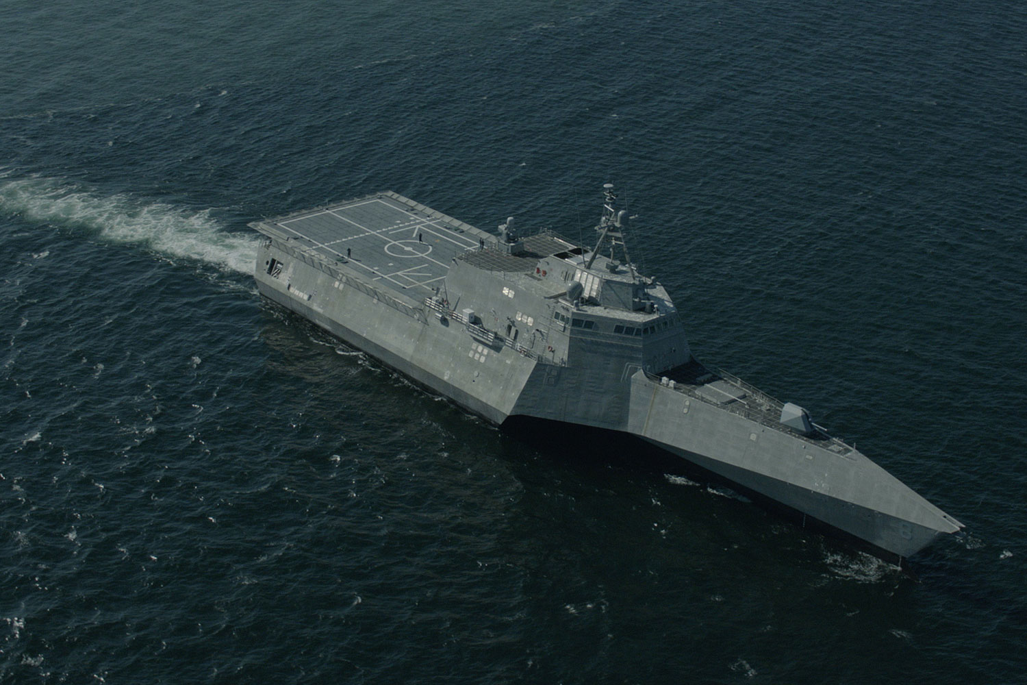 LCS Montgomery Suffers Two Engine Casualties Days After Commissioning