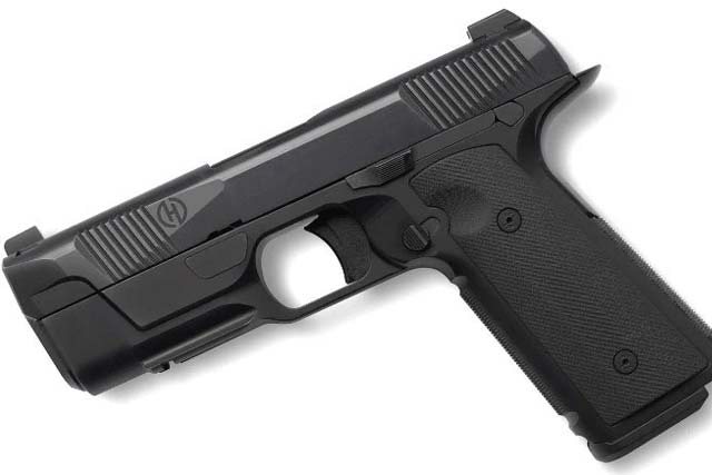 Hudson Mfg. will debut its new H9, a 1911-style, striker-fired pistol at SHOT Show 2017. Photo: Recoilweb.com.