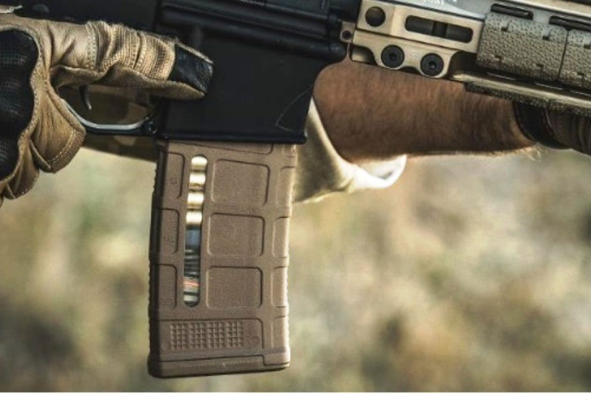 Magpul's PMAG 30 AR/M4 Gen M3 magazine. (Photo courtesy Magpul Industries Corp.)