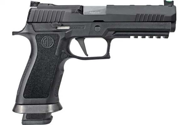 Sig Sauer's new P320 X-Five striker fired pistol. Photo: Sig Sauer.