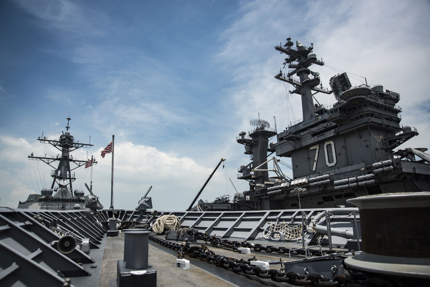 Carrier Vinson Deployment Extended Amid North Korean Tensions