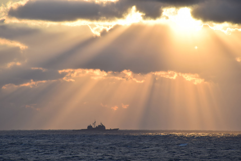 USS Vella Gulf Leaves Norfolk for Deployment