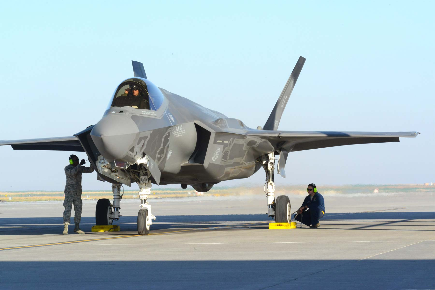 Air Force: No Clear Cause for F-35A Hypoxia-Related Problem
