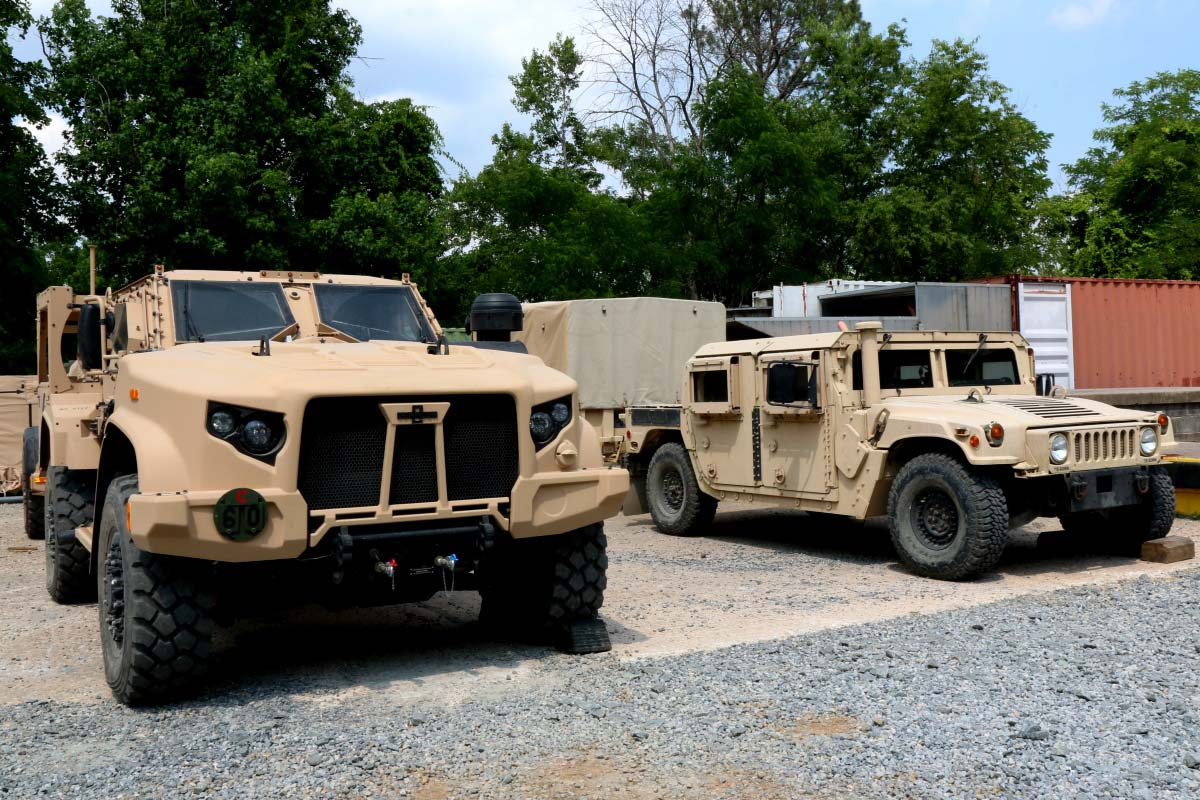 Pentagon Selects 1st Army Marine Units To Receive Jltv
