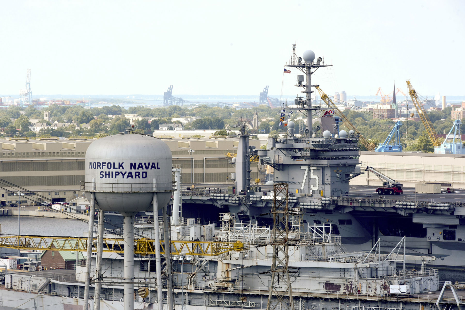 Navy's 4 Public Shipyards Are in Bad Shape, GAO Study Says