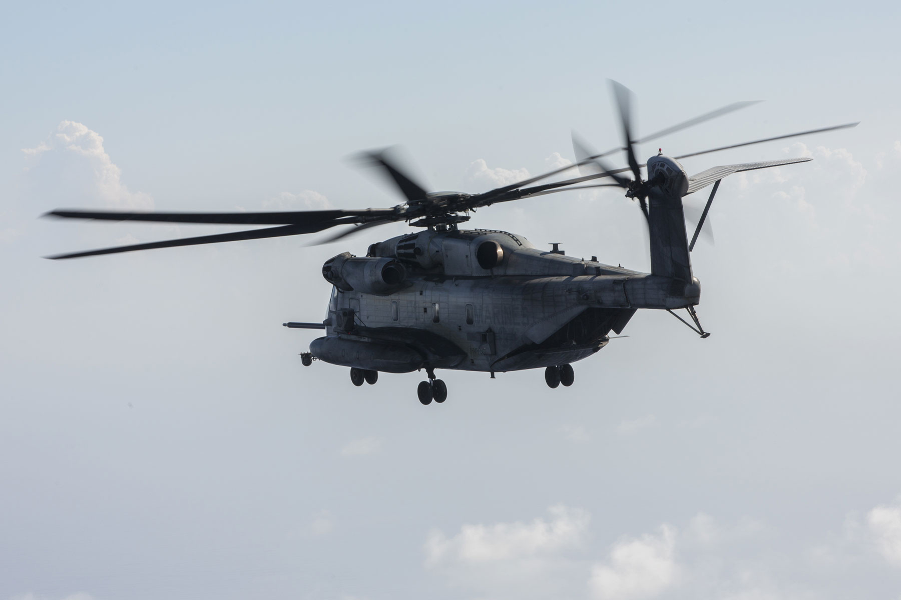 Marines Pause CH-53 Flights in Okinawa After In-Flight Fire