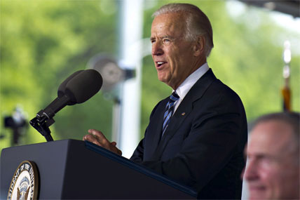 Biden speaking