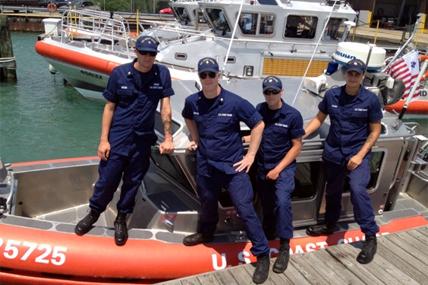Coast Guard Boat Crew 428x285